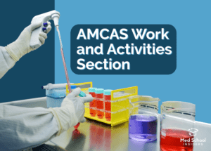 AMCAS Work and Activities Section